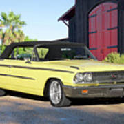 1963 Ford Galaxie 500 Xl Convertible Poster