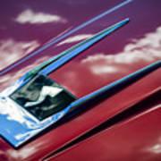 1963 Studebaker Avanti Hood Ornament 4 Poster
