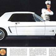 1964 Ford Mustang Muscle Poster