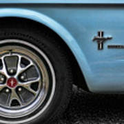 1964 Ford Mustang Poster