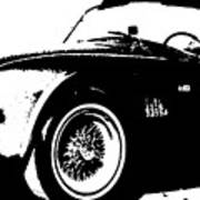 1964 Shelby Cobra Sketch Poster