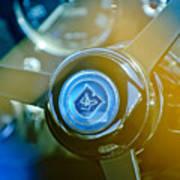 1965 Aston Martin Db5 Coupe Rhd Steering Wheel Poster