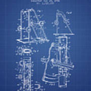 1966 Exercising Device Patent Spbb05_bp Poster