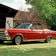 1966 Ford Fairlane 500 Convertible Poster