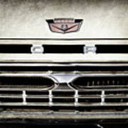 1966 Ford Pickup Truck Grille Emblem -0154ac Poster