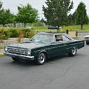 1966 Plymouth Belvedere Rapp Poster