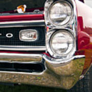 1966 Pontiac Gto Grill Poster
