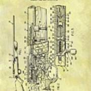 1966 Rifle Patent Poster