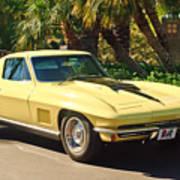 1967 Chevrolet Corvette Sport Coupe Poster