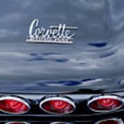 1967 Chevrolet Corvette Taillight 3 Poster