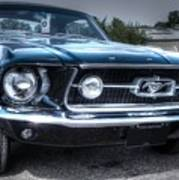 1967 Ford Mustang Poster