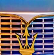 1967 Maserati Sebring Coupe Emblem Poster