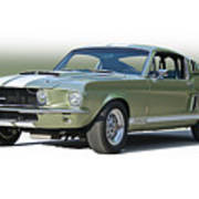 1967 Mustang 'shelby Gt 500' Poster
