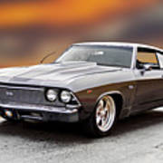 1968 Chevrolet Chevelle Ss L Poster