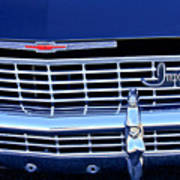 1968 Chevrolet Impala Ss Grille Emblem Poster