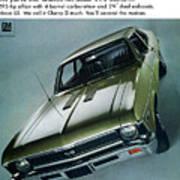 1968 Chevy Nova Ss Poster