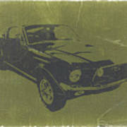 1968 Ford Mustang Poster