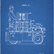 1968 Lift Truck Patent Poster