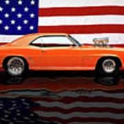 1969 Camaro Tribute Poster