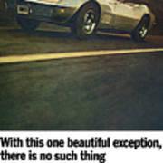 1969 Chevrolet Corvette Poster