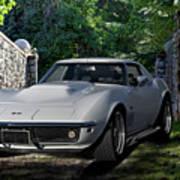 1969 Corvette Lt1 Coupe I Poster