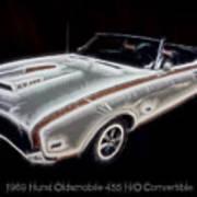 1969 Hurst Oldsmobile 455 Ho Electric Poster