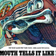 1969 Plymouth Gtx - Plymouth Tells It Like It Is Poster