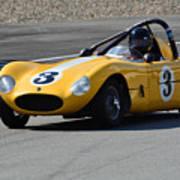 Vintage Racer Poster