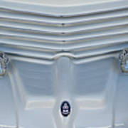 1970 Cord Royale Grille Hood Ornament Poster