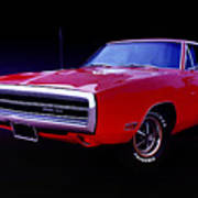 1970 Dodge Charger 500 Poster