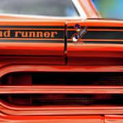 1970 Plymouth Road Runner - Vitamin C Orange Poster