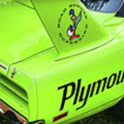 1970 Plymouth Superbird Poster