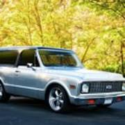 1971 Chevrolet Tahoe Blazer I Poster