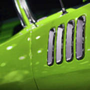 1971 Plymouth 'cuda Fender Gills Poster