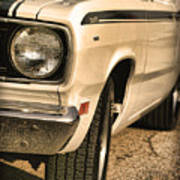 1971 Plymouth Duster 340 Four Barrel Poster