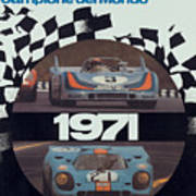 1971 Porsche World Champion Poster Poster