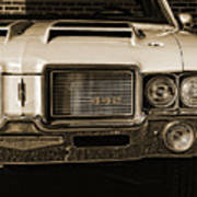 1972 Olds 442 - Sepia Poster