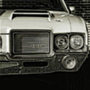 1972 Olds 442 Poster