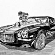1973 Camaro Z28 Poster