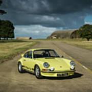 1973 Porsche 2.7 Rs Poster