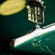 1976 Cadillac Fleetwood Hood Ornament Poster