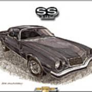 1976 Chevrolet Camato S S 396 Poster