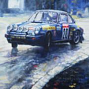 1980 Criterium Lucien Bianchi Porsche Carrera Keller Hoss #20 Poster