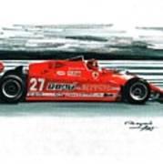 1981  Ferrari 126cx Poster