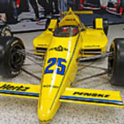 1987 Indianapolis 500 Winner Al Unser Poster