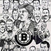 1988 Boston Bruins Newspaper Poster Poster