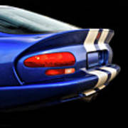1995 Dodge Viper Coupe 'tail' Poster