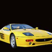 1995 Ferrari F512m Poster