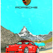 1997 Porsche 993 Twin Turbo R  Poster