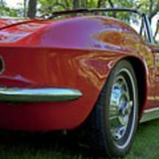 1962 Corvette Poster